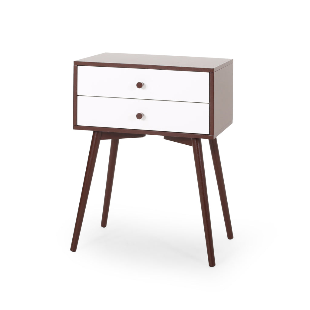 Verna Mid-Century Modern Side Table