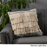 Stacy Boho Cotton Throw Pillow