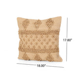 Kent Boho Cotton Chindi Pillow Cover