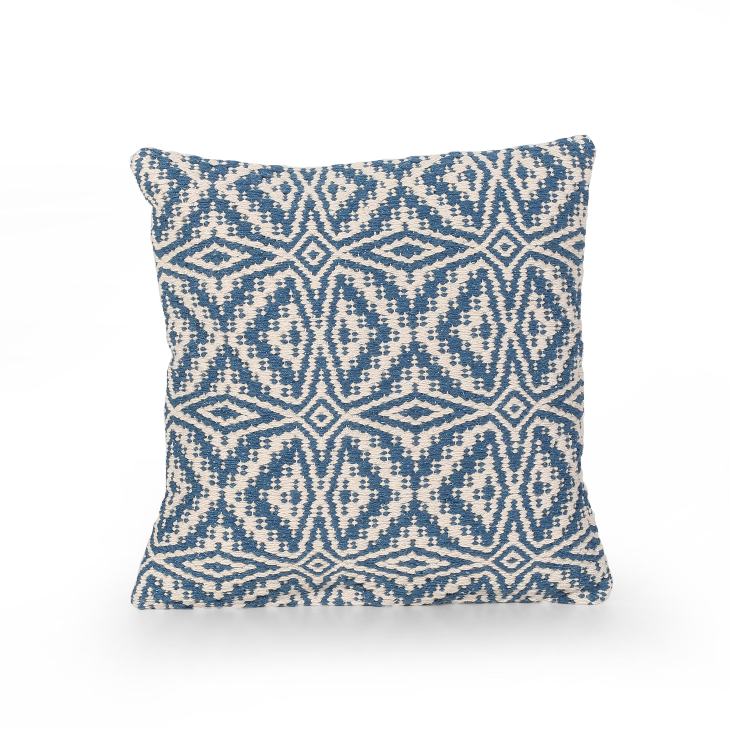 Aabidah Boho Cotton Throw Pillow Default Title