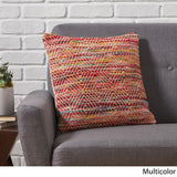 Indee Boho Cotton and Wool Pillow Cover