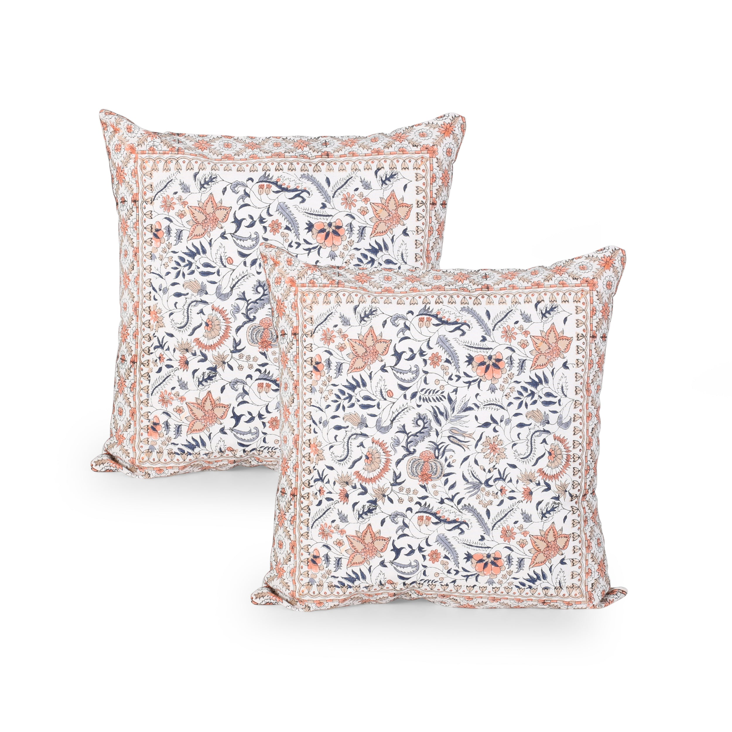 Aalasia Modern Fabric Throw Pillow Cover Set of 2