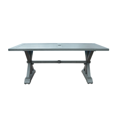 Beenle Modern Outdoor Aluminum Dining Table