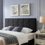 Messyah Contemporary Upholstered King/Cal King Headboard