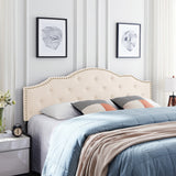 Sharon Contemporary Upholstered King/Cal King Headboard