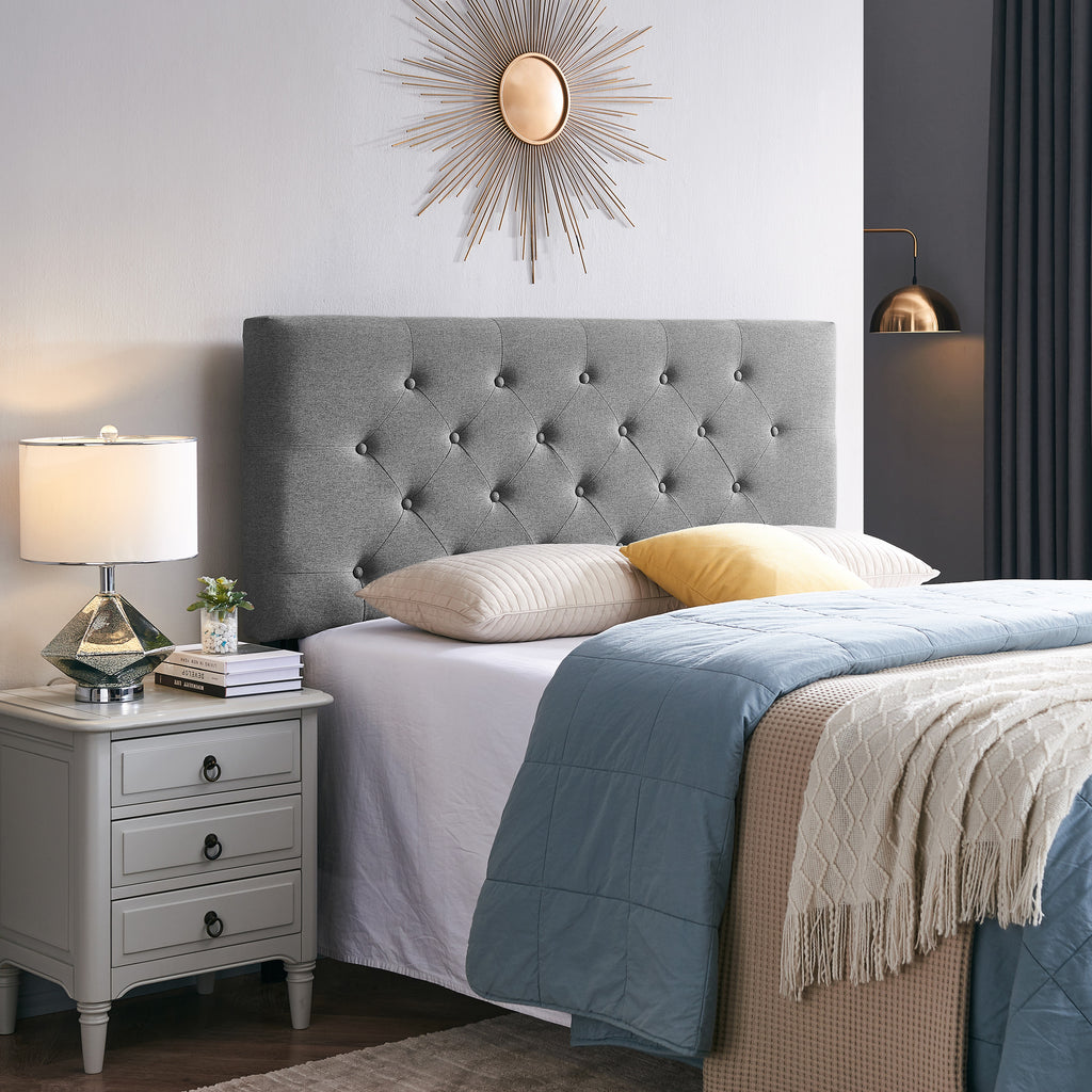 Dawn Contemporary Upholstered Queen/Full Headboard