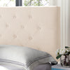Agnes Contemporary Upholstered Headboard