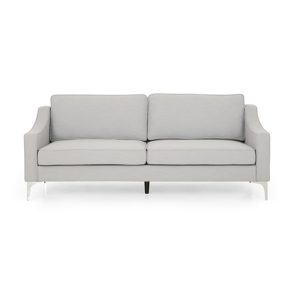 Erick Modern Fabric 3 Seater Sofa