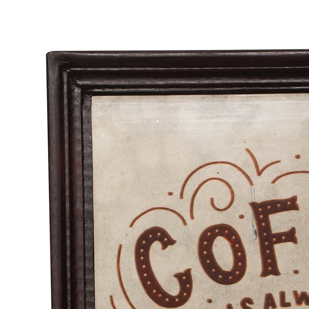 Geraldine Inspirational Coffee Wall Art