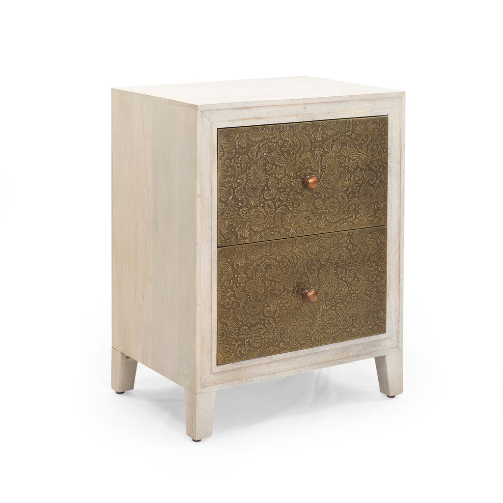 Canen Traditional Bedside Table