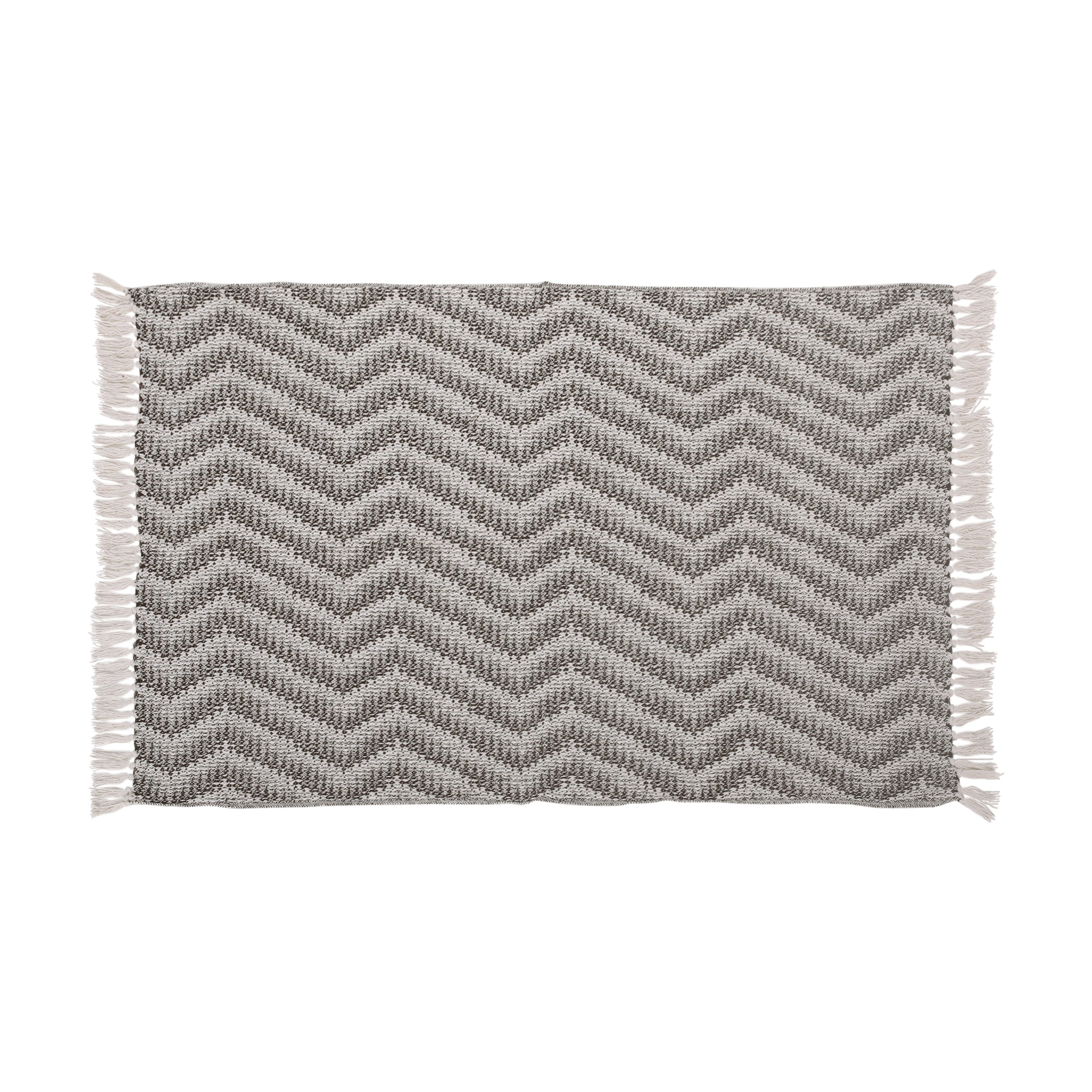 Anise Hand Loomed Boho Throw Blanket Default Title