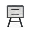 Amariana Mid-Century Modern Nightstands (Set of 2)
