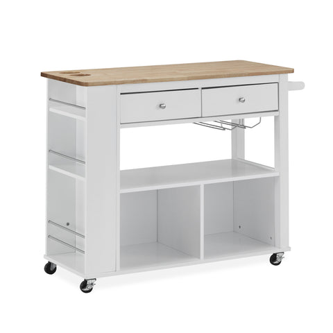 Julien Kitchen Cart with Wheels