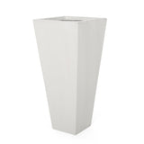 Fardeen Outdoor Modern Cast Stone Planter