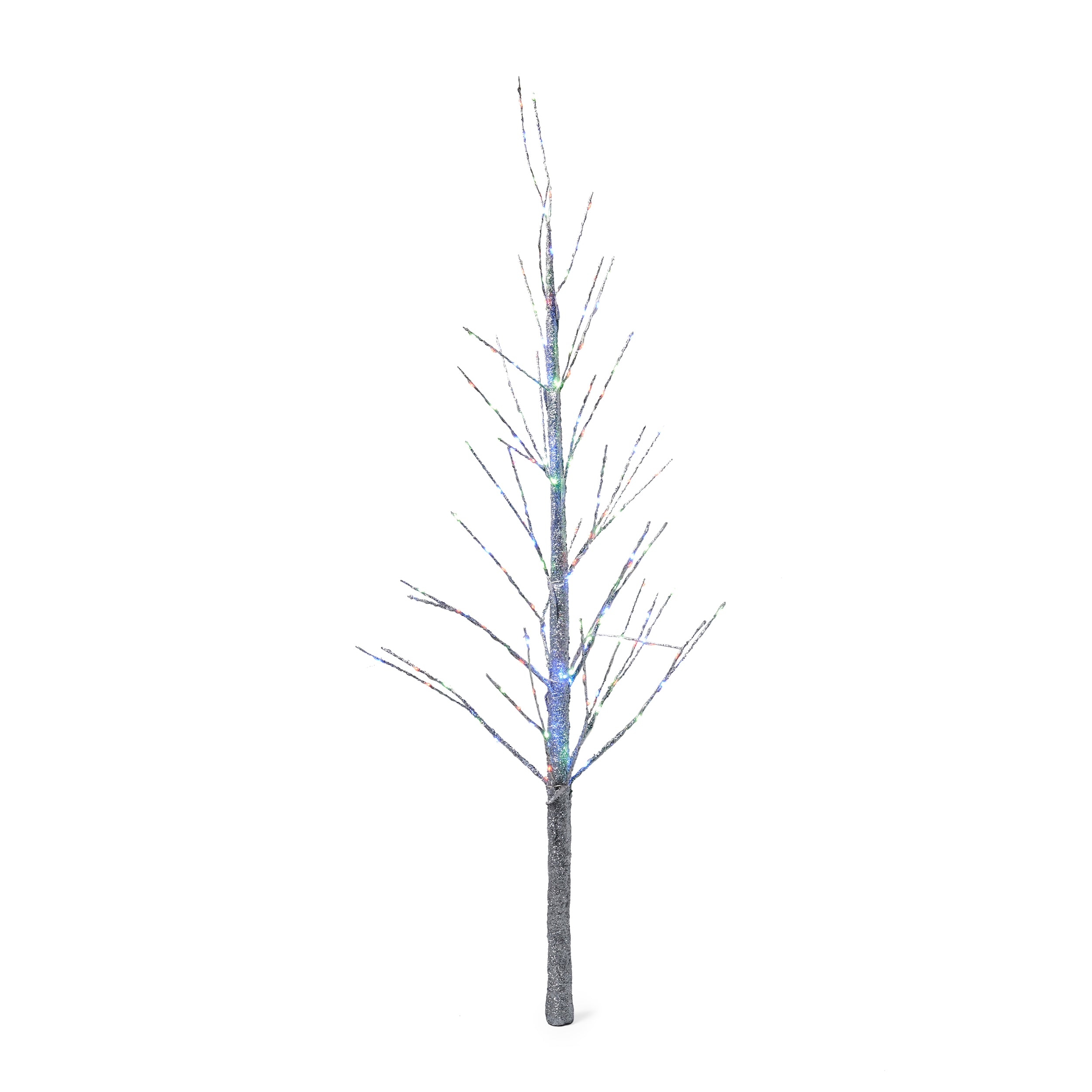 Abdi 4 foot Pre Lit 152 Multi Color LED Artificial Christmas Twig Tree Default Title