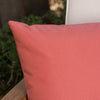Coronado Outdoor Red Water Resistant Rectangular Throw Pillow