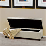817056010316 Sandford Cloth Storage Ottoman Open Storage View
