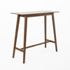 Margaret Mid-Century Rectangular Bar Table with Tapered Legs