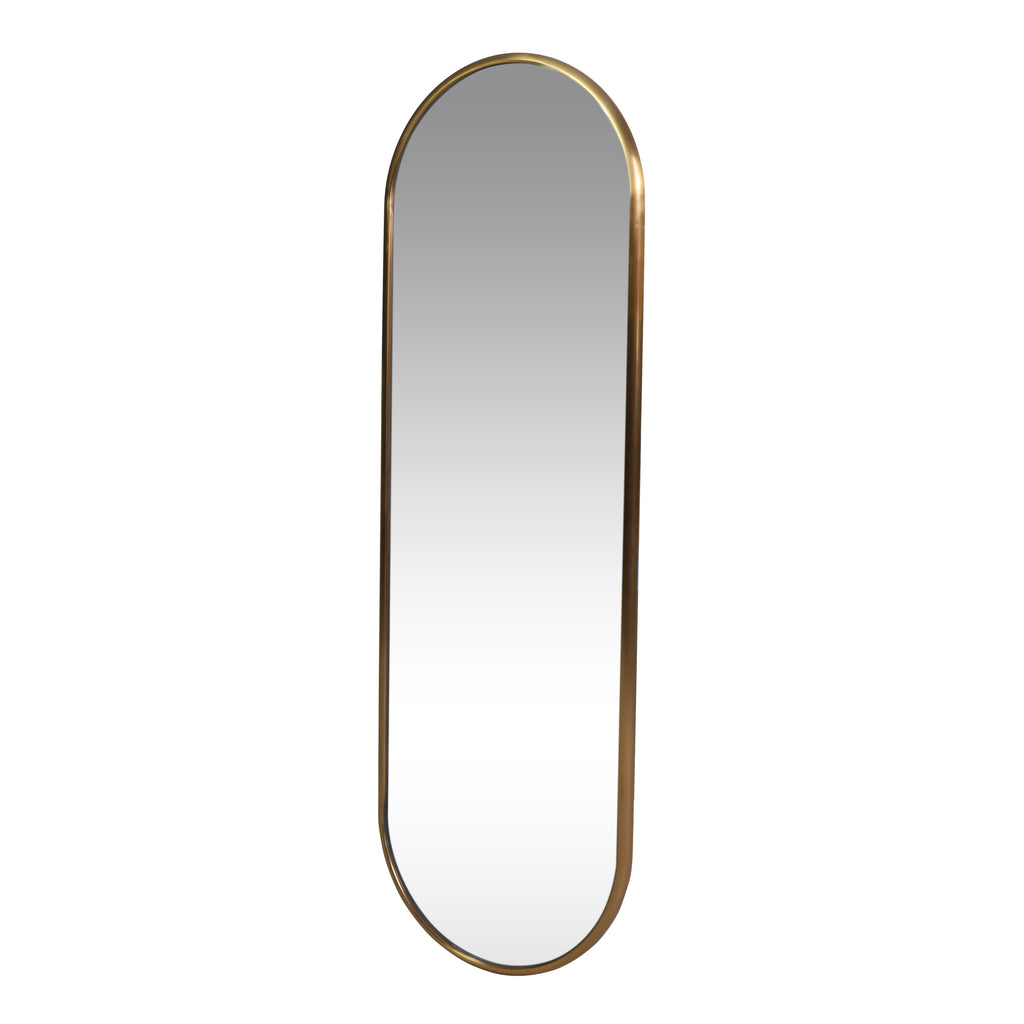 Smythe Contemporary Oval Wall Mirror