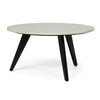 Freas Modern Glam Handcrafted Marble Top Coffee Table