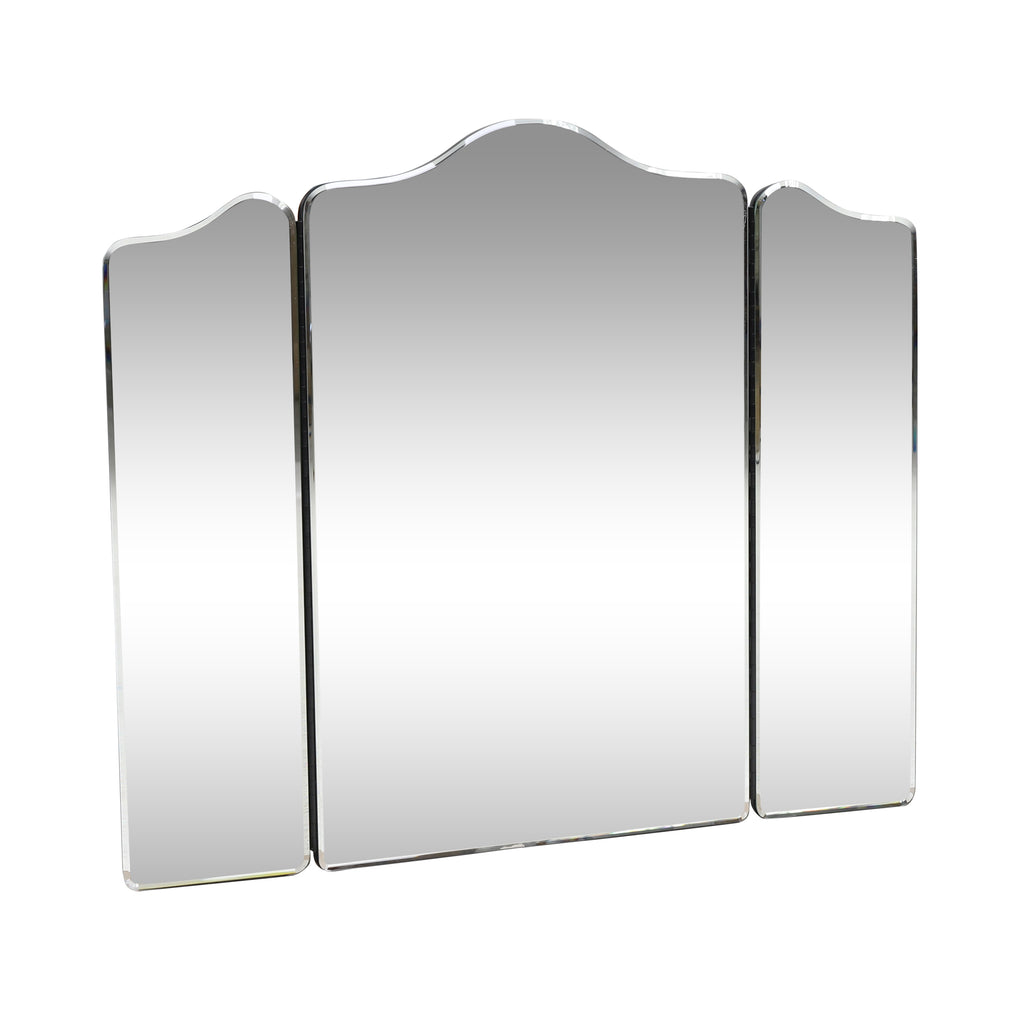 Terry Modern Glam Foldable 3-Panel Vanity Mirror