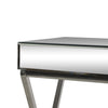 Modesta Modern Glam Console Table with Mirror Tabletop