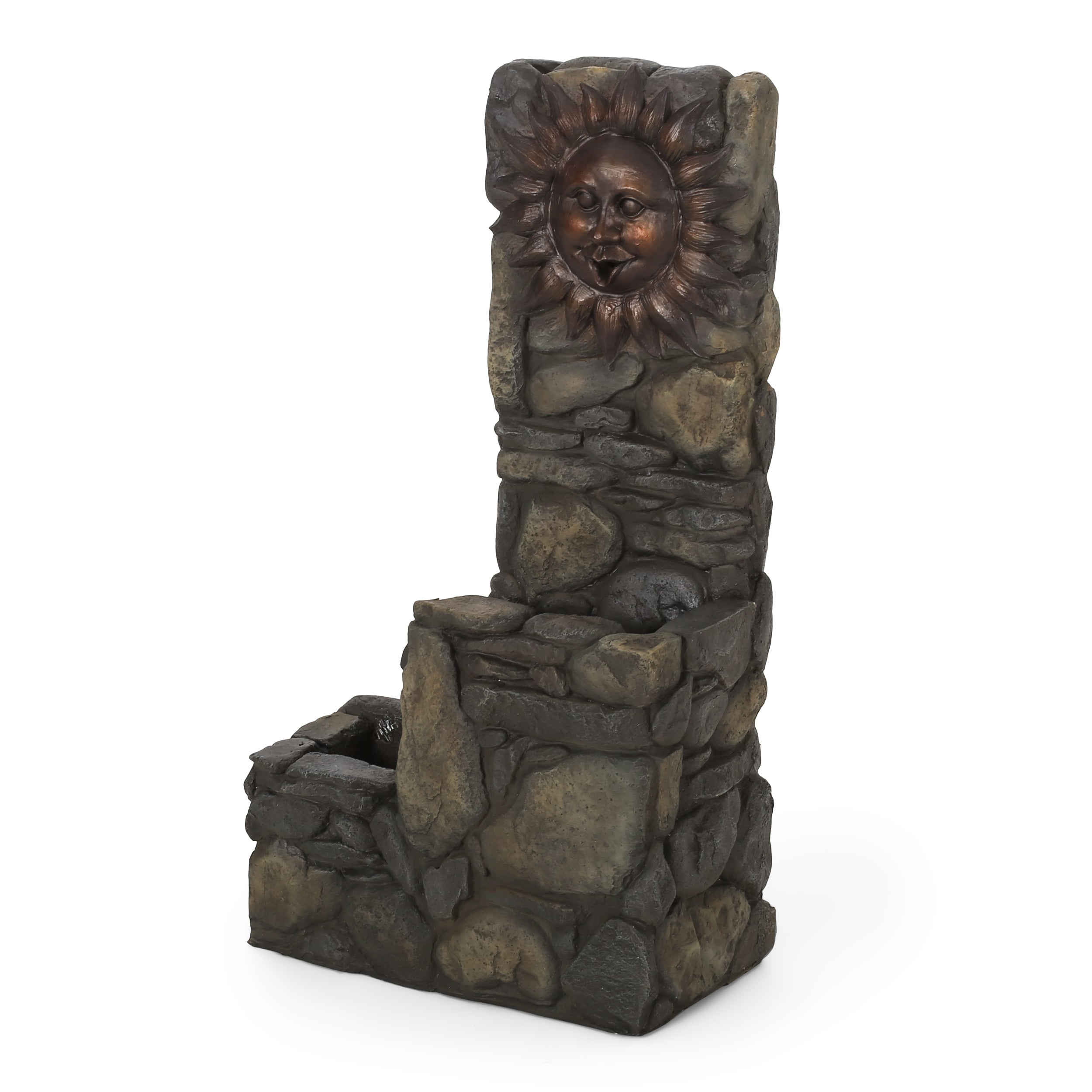 Adrian Aza Outdoor 2 Tier Sun Fountain