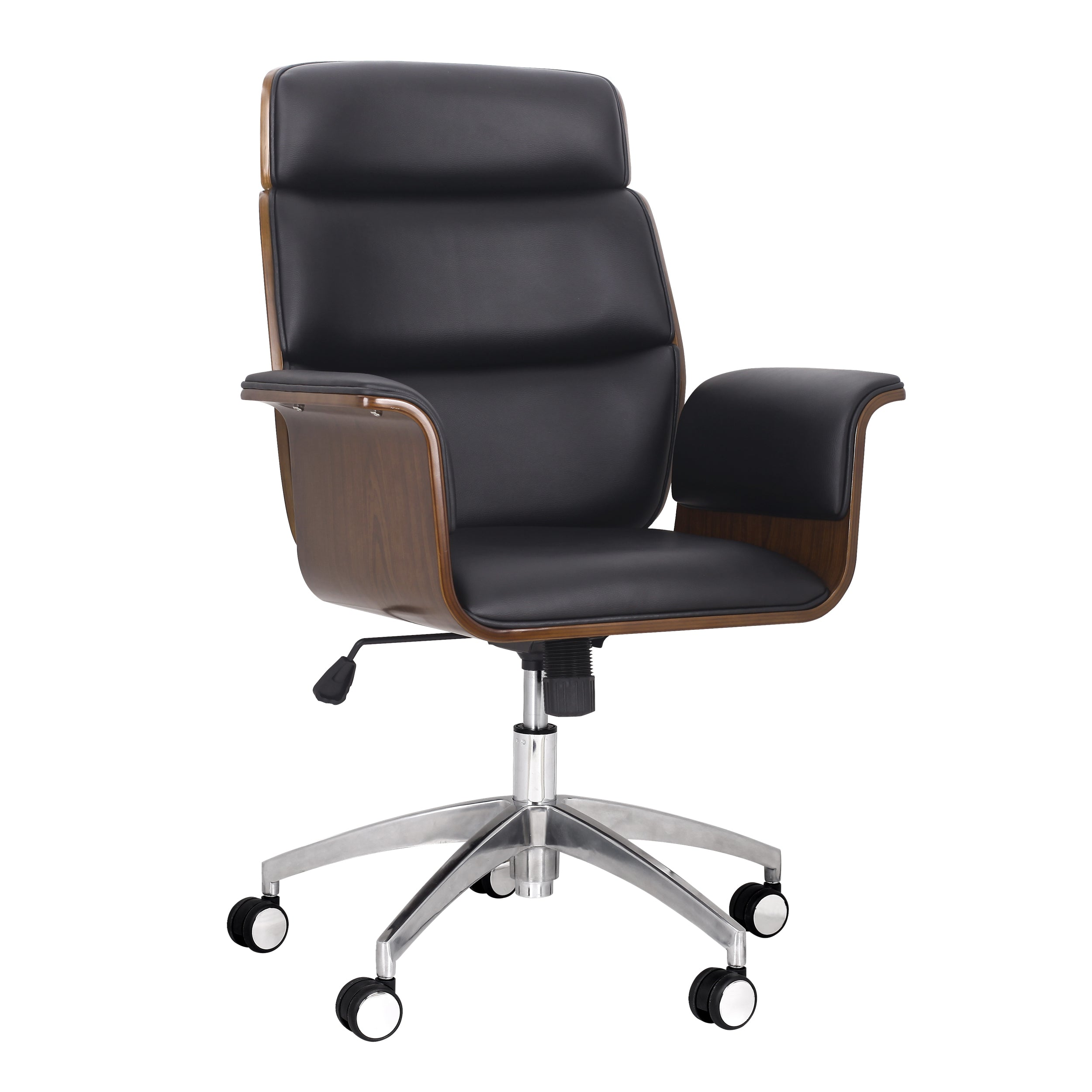 Aleigha Mid Century Modern Swivel Office Chair