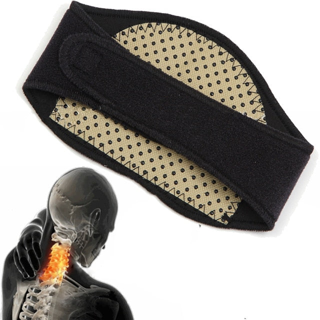 Tourmaline Magnetic Therapy Neck Massager - shopaholicsonlyco