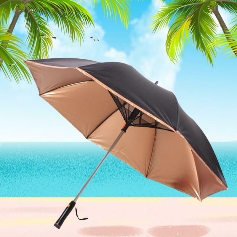 UV Protection Umbrella With Fan - shopaholicsonlyco