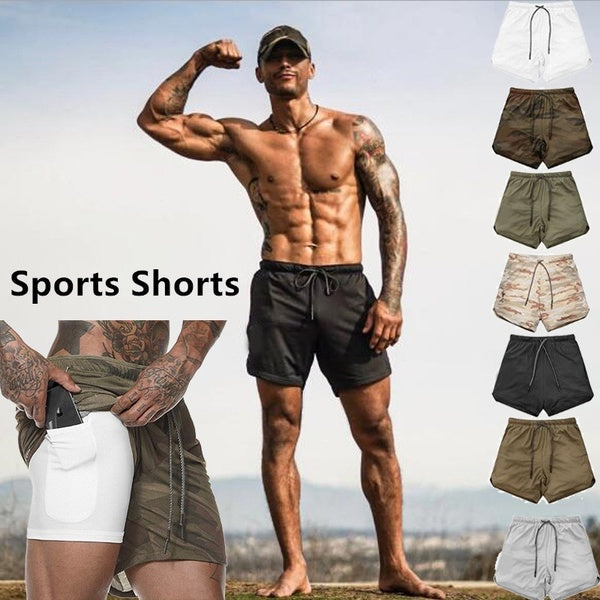 2 in 1 Smart Shorts w/ Hidden Pocket - shopaholicsonlyco