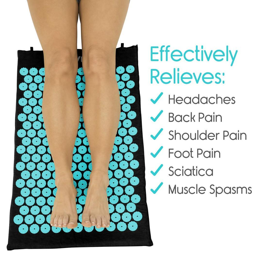 ACUPRESSURE MAT AND PILLOW SET (70% OFF) - shopaholicsonlyco
