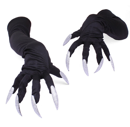 Longe fingertips Cotton Halloween Demon Paws - shopaholicsonlyco