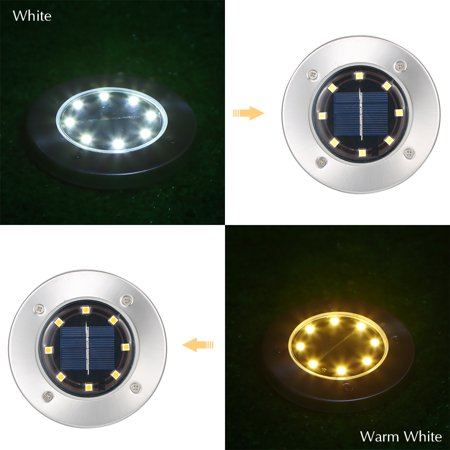 4pcs Solar Power Under Ground Light - shopaholicsonlyco
