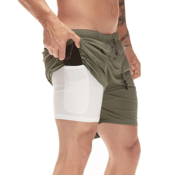 2 in 1 Smart Shorts w/ Hidden Pocket