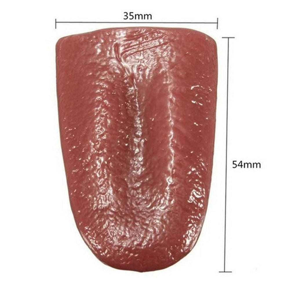 Halloween Harmless Realistic Fake Tongue - shopaholicsonlyco