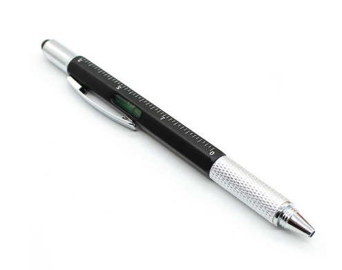 6 in 1 Multifunctional Ballpoint Pen - shopaholicsonlyco