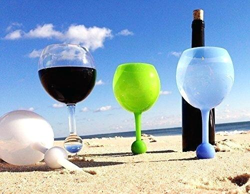 Beach Floating Glass