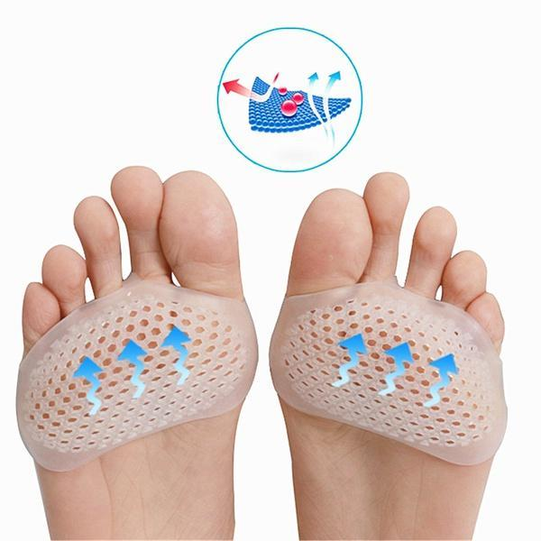 Silicone Padded Forefoot Insoles - shopaholicsonlyco