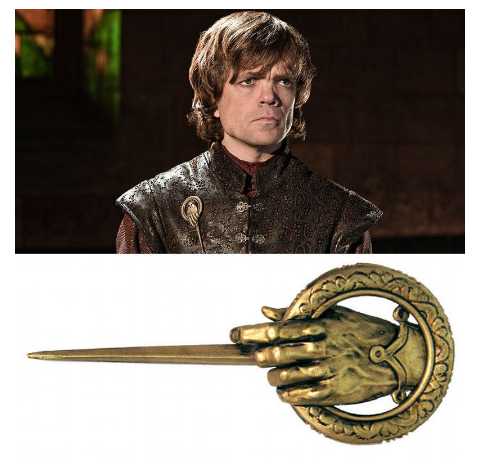 Game of Thrones Hand of the King Cosplay Badge - shopaholicsonlyco