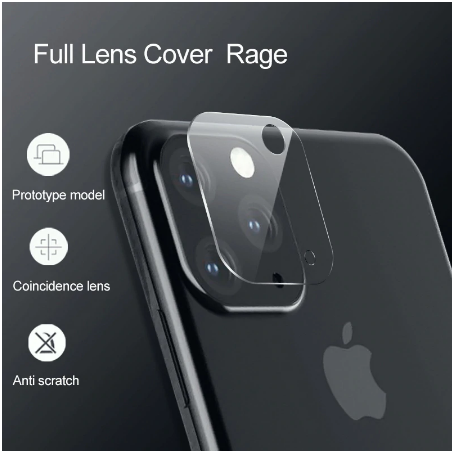 Glass Camera Lens Screen Protector For iPhone 11/Pro/Max - shopaholicsonlyco