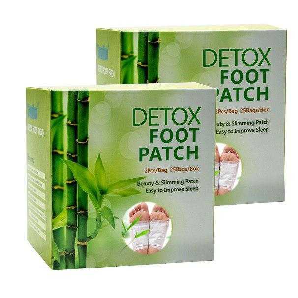 Detox Foot Patch - Bundle of 2 (20pcs)
