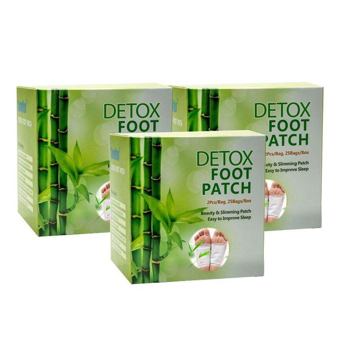 Detox Foot Patch - Bundle of 3 (30pcs)