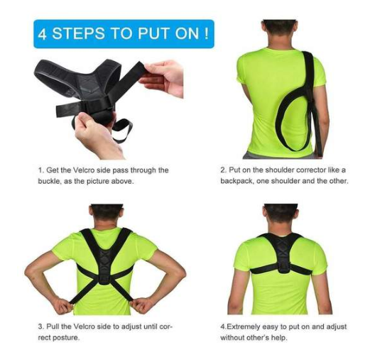 Spine Posture Corrector - shopaholicsonlyco