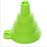 Portable Mini Silicone Foldable Funnel - shopaholicsonlyco