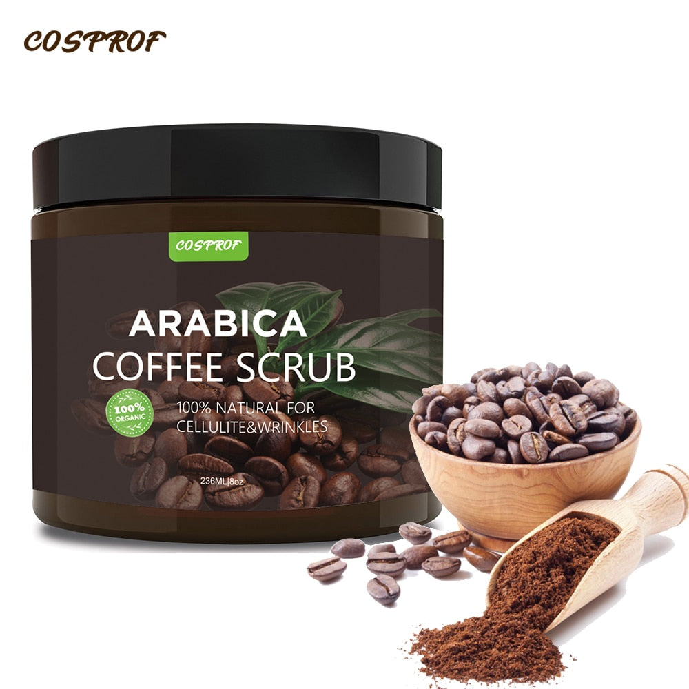 Coffee Cream Body Scrub - shopaholicsonlyco