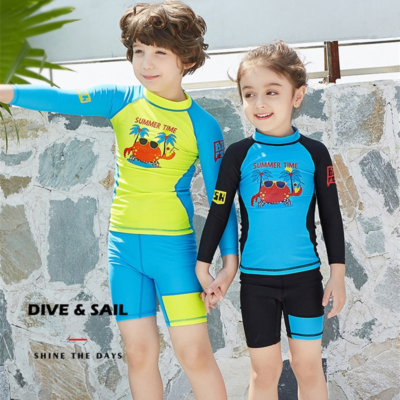 Anti UV Rash Guard for Kids - shopaholicsonlyco