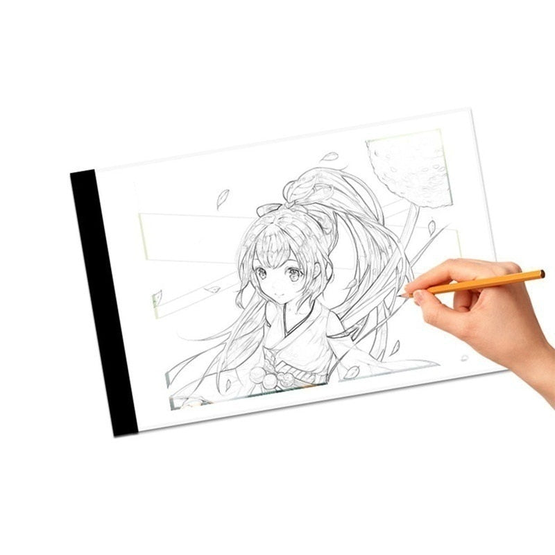 A4 LED Light Box Drawing Board - shopaholicsonlyco