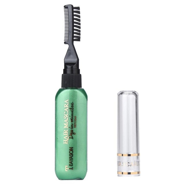 Temporary Hair Color Dye Mascara Cream - shopaholicsonlyco
