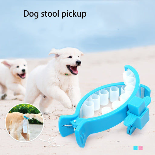 Dog Poop Collector Cushioned Clips